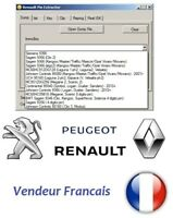 Renault immo PIN code extractor software