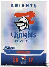 2017 NRL Traders Parallel Special (PS071) KNIGHTS Check List