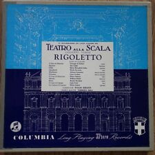 33CX 1324-26 Verdi Rigoletto Callas / Serafin B/G 3 LP box set