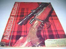 Vintage AMERICAN RIFLEMAN Magazine, OCTOBER 1952  Acceptable Condition