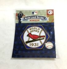 Official St Louis Cardinals 1931 World Series Champions Jersey Patch FREESHIP