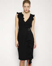 Karen Millen Polyester No Pattern V Neck Dresses for Women