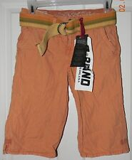 NWT Z BRAND girls Orange Spice Capri SHORTS* 10  NEW $68
