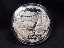 2008 Canada $250 Silver Kilogram Coin - Towards Confederation - See Photos