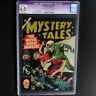 MYSTERY TALES #17 (Atlas 1954) 💥 CGC 6.0 Restored 💥 33 IN CENSUS PCH SKULL CVR
