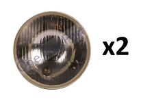 "PAIR Universal 5 1/2"" 140mm Headlight Headlamp Tractor E Certified x2"