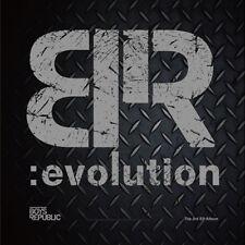 BOYS REPUBLIC-[BR:EVOLUTION] 3rd EP Album CD+Photo Booklet+2p Card K-POP Sealed