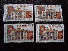 SUEDE - timbre yvert et tellier n° 2024 x4 obl (A29) stamp sweden (R)