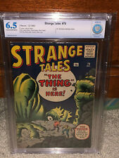 Strange Tales #79 CBCS 6.5 Marvel 1960 Dr. Strange Prototype! Free CGC mylar! cm