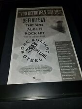 38 Special You Definitely Got Me Rare Original Radio Promo Poster Ad Framed!