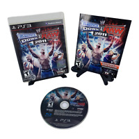 WWE SmackDown vs. Raw 2011 (Sony PlayStation 3, 2010) Complete w/ Manual Tested