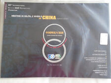 2 Wheels of China Exhibition brochure Milan 1999 Chinese & English text