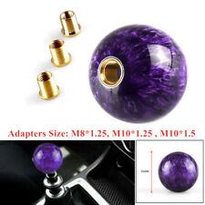 M12x1.25 54mm Diameter Car SUV Gear Shift Knob Shifter Lever Manual Transmission