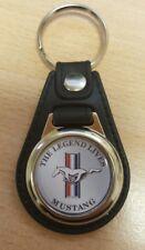 Mustang Logo Medallion Keyring, Brand New