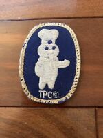 Vintage PILLSBURY DOUGHBOY Employee Patch RETRO VERY RARE TPC BLUE WHITE RARE