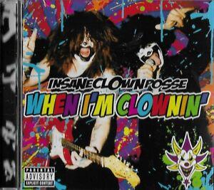 INSANE CLOWN POSSE - When I'm Clownin' - Hip Hop Horrorcore Rock Music CD