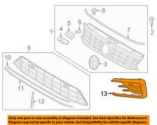 VW VOLKSWAGEN OEM 16-17 Passat-Grille Grill Left 561854661QFOD