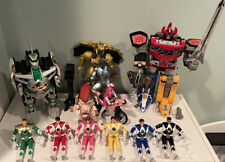 Huge Lot Vintage Bandai 1990s Mighty Morphin Power Rangers DragonZord Megazord
