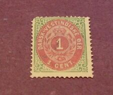 US Stamp Danish West Indies Scott# 5 Coat of Arms 1874-79  MNG C233