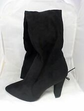 0be1a69e7ca4 Missguided Over The Knee Heeled BOOTS Black UK 7 EUR 40 Ln08 12 Www