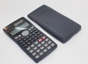 Casio FX-991MS SVPAM 2 Way Power Calculator with front cover