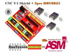 CNC Shield V4 Expansion Board + 3pcs DRV8825 Stepper Motor Driver for 3D Printer
