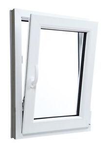 Finestre PVC BIANCO con Anta&Ribalta e Vetro Doppio con Argon Larghezza: 700mm