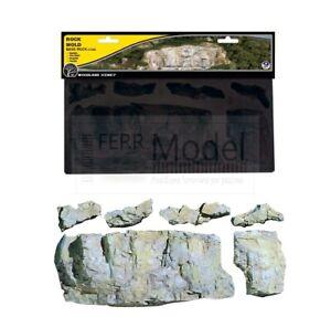 WOODLAND SCENICS C1243 - Rock Mold  Stampo per creare rocce realistiche.