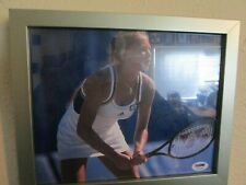 Anna Kournikova Signed & Framed Autograph 8x10 Photo Picture PSA/DNA K67485