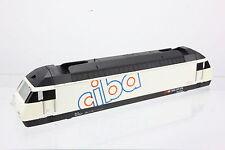 "Märklin Gehäuse Aufbau von 3450 E-Lok RE 4/4 RE 460016-9 ""CIBA"" SBB in weiss"