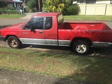 mitsubishi triton 2.6lt cab ute91 model  wrecking,selling wheel nut