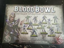 BLOOD BOWL NAGGAROTH NIGHTMARES DARK ELF BLOOD BOWL TEAM - NEW & SEALED