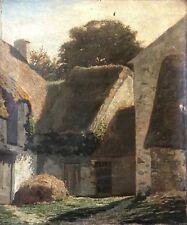 Dans le goût de l' École de Barbizon peinture sur toile XIXe anonyme
