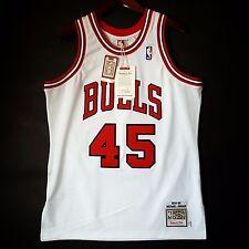 Michael Jordan Mitchell Ness Bulls #45 94 95 Jersey Size 36 48 52 Mens S XL 2XL