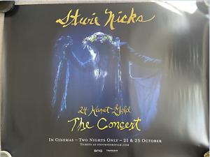 """Stevie Nicks: The Concert"" UK Cinema Quad Poster 30""x40"""