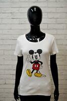LIU JO Maglia Donna Taglia L Polo Manica Corta Shirt T-shirt Cotone jersey Hemd