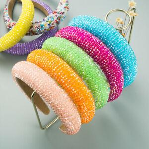 Women's Luxury Glitter Headband - Shiny Hair Accessories Crystal Rhinestone