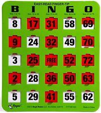 10 JUMBO Reusable Bingo Cards