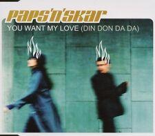 Papa 'N' scarifiée you want my love (DIN Don Da Da; 1999) [Maxi-CD]