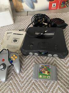 Console Nintendo 64 Fr En Boite / Avec Mario 64