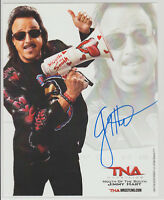 Jimmy Hart TNA WWE HOF Autograph WWF Wrestling Signed Photo
