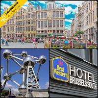 Kurzreise Reisesgutschein 3 Tage 2P Brüssel BEST WESTERN Hotel Brussels South
