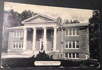 Rare 1938 RPPC Real Picture Postcard Fox Memorial Bldg Tullahoma Tennessee B52