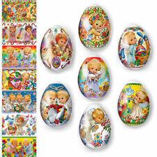 Easter Egg Wraps for 7 Hen Eggs Pysanka Pysanky Eggs Heat Shrink Sleeves #7