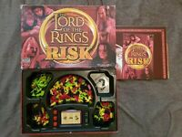 Lord of the Rings RISK Board Game Great Condition Parker Hasbro 2002 FREE P&P