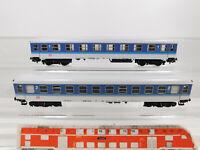CO888-0,5# 2x Märklin H0/AC InterRegio-/IR-Personenwagen DB: 4027 + 4032, s.g.