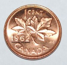 1962 1 Cent Canada Copper Nice Uncirculated