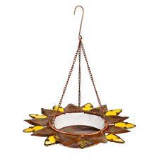 New listing Bird Feeder Sunflower Metal Glass