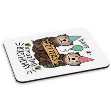 Have An Otterly Amazing Birthday PC Computer Mouse Mat Pad Funny Happy Animal