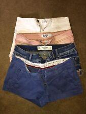 juniors girls Short Lot Size 00-0 Hollister Klip Delia's  Abercrombie 4 Pair Lot